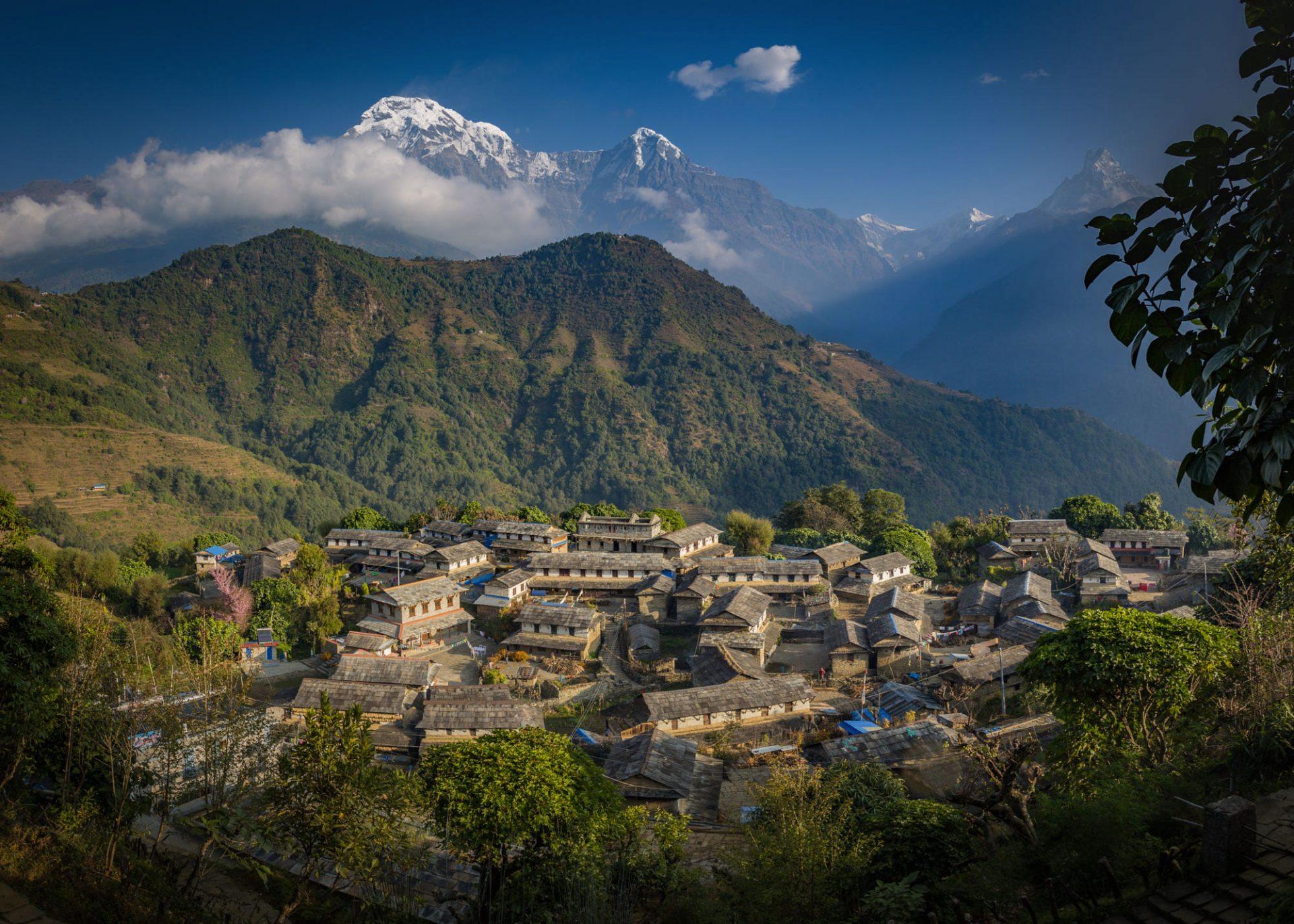 Ghandruk-Village