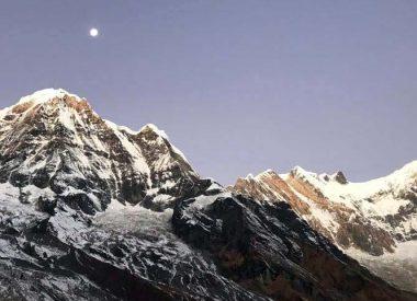 nepal annapurna range